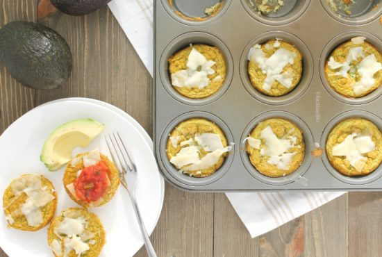 Egg and Veggie Breakfast Muffins