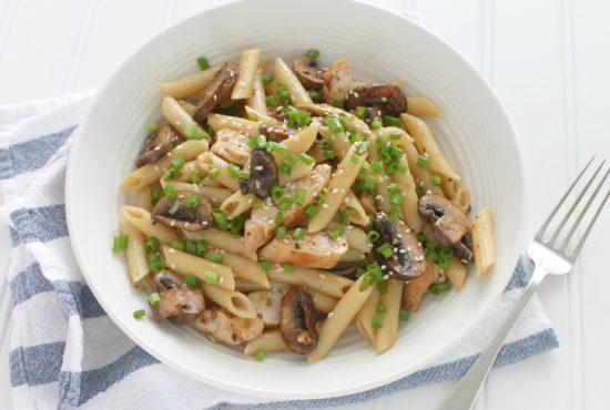 Tahini Goddess Chicken and Pasta Salad