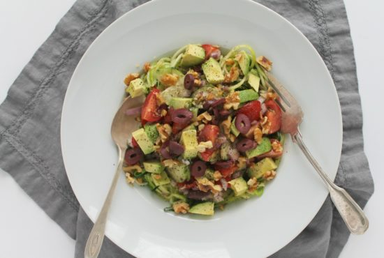 Greek Salad Zoodles