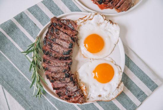 Rosemary Balsamic Steak & Eggs
