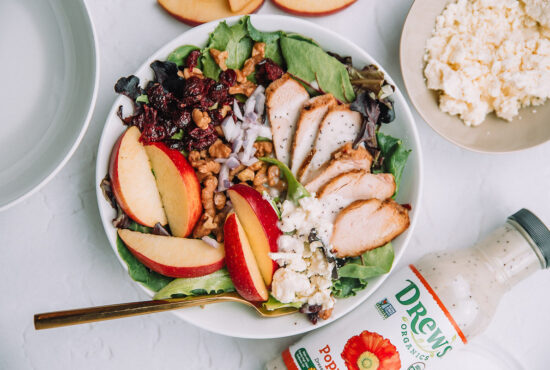 Chicken Apple Walnut Salad